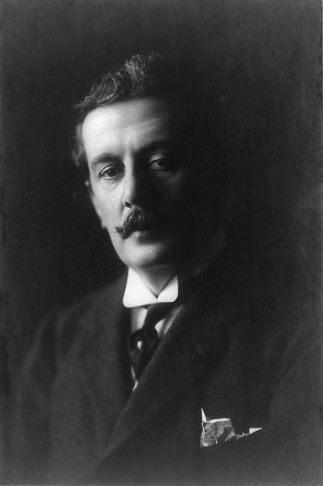"Giacomo Puccini, who tried his hand at operetta once, with ""La Rondine."" (Photo: Wikipedia)"