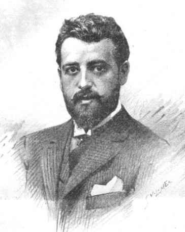 The young Victor Léon in 1894.