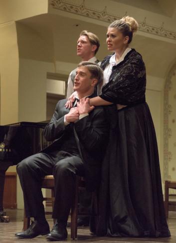 "The New York cast of ""Cyrano."" (Photo: Steven Pisano)"