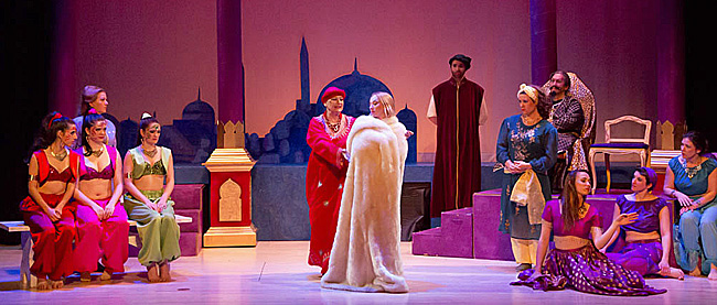 """Another colorful moment from """"Kismet"""" in Loveland. (Photo: LOC)"""