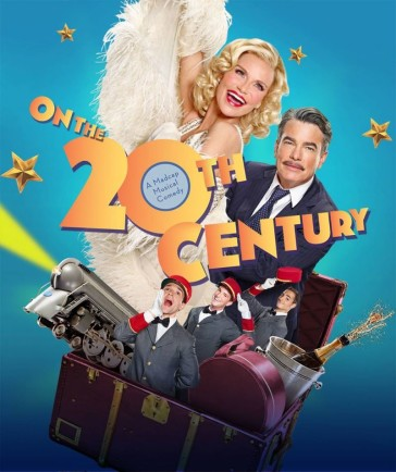 "Poster for the 2015 Broadway production of ""On the 20th Century."""