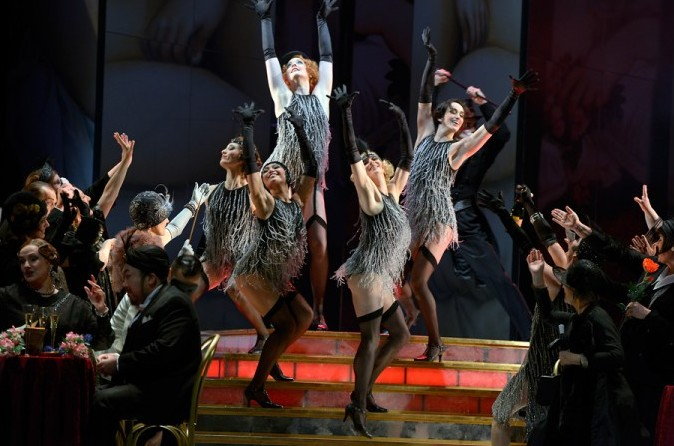 """A dance squence from the new """"La Rondine"""" in Berlin. (Photo: DOB)"""