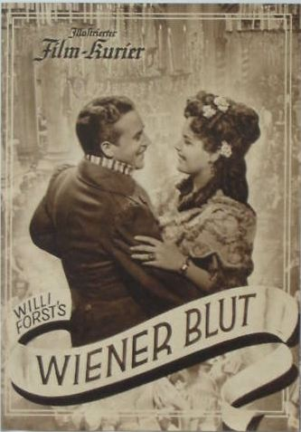 "The Willi Forst film version of ""Wiener Blut"" from Nazi times emphasized the ""nostalgic"" element of the show and eliminated the mad-cap comedy."