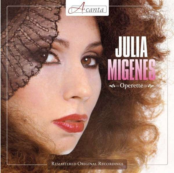 Julia Migenes's operetta recital disc from 1978. (Photo: Acanta)