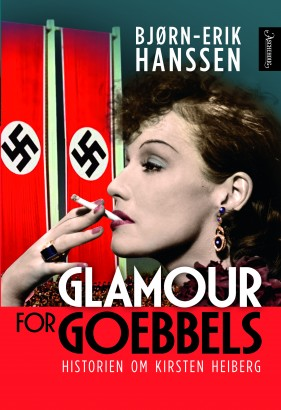 "Cover of the Heiberg biography ""Glamour For Goebbels."""