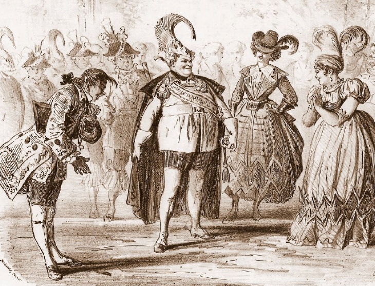 "Sheet music for a quadrille from Offenbach's ""L'île de Tulipatan."""