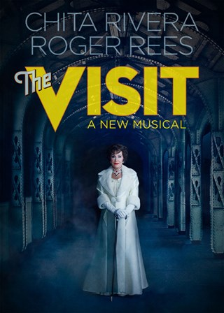 "Poster for the 2015 Broadway production of ""The Visit."""