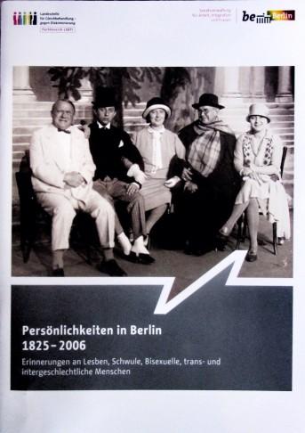 "The brochure ""Persönlichkeiten in Berlin 1825-2006."""