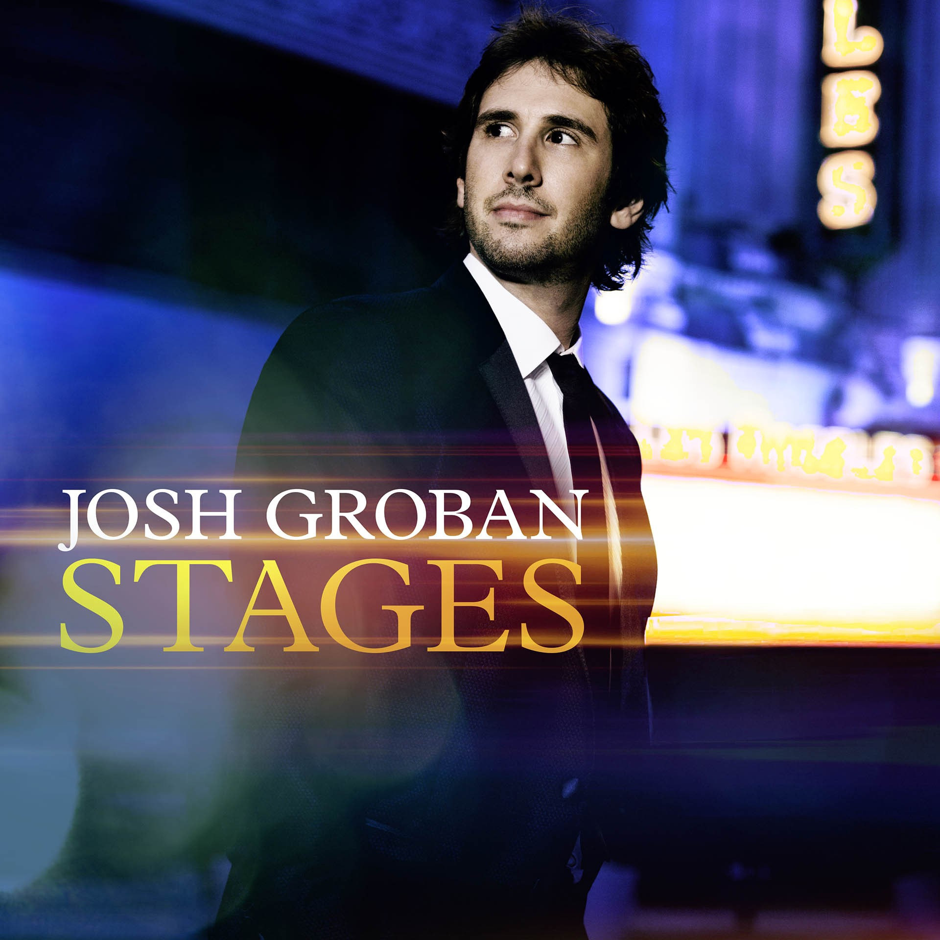 "The cover for Josh Groban's album ""Stages."" (Reprise Records)"