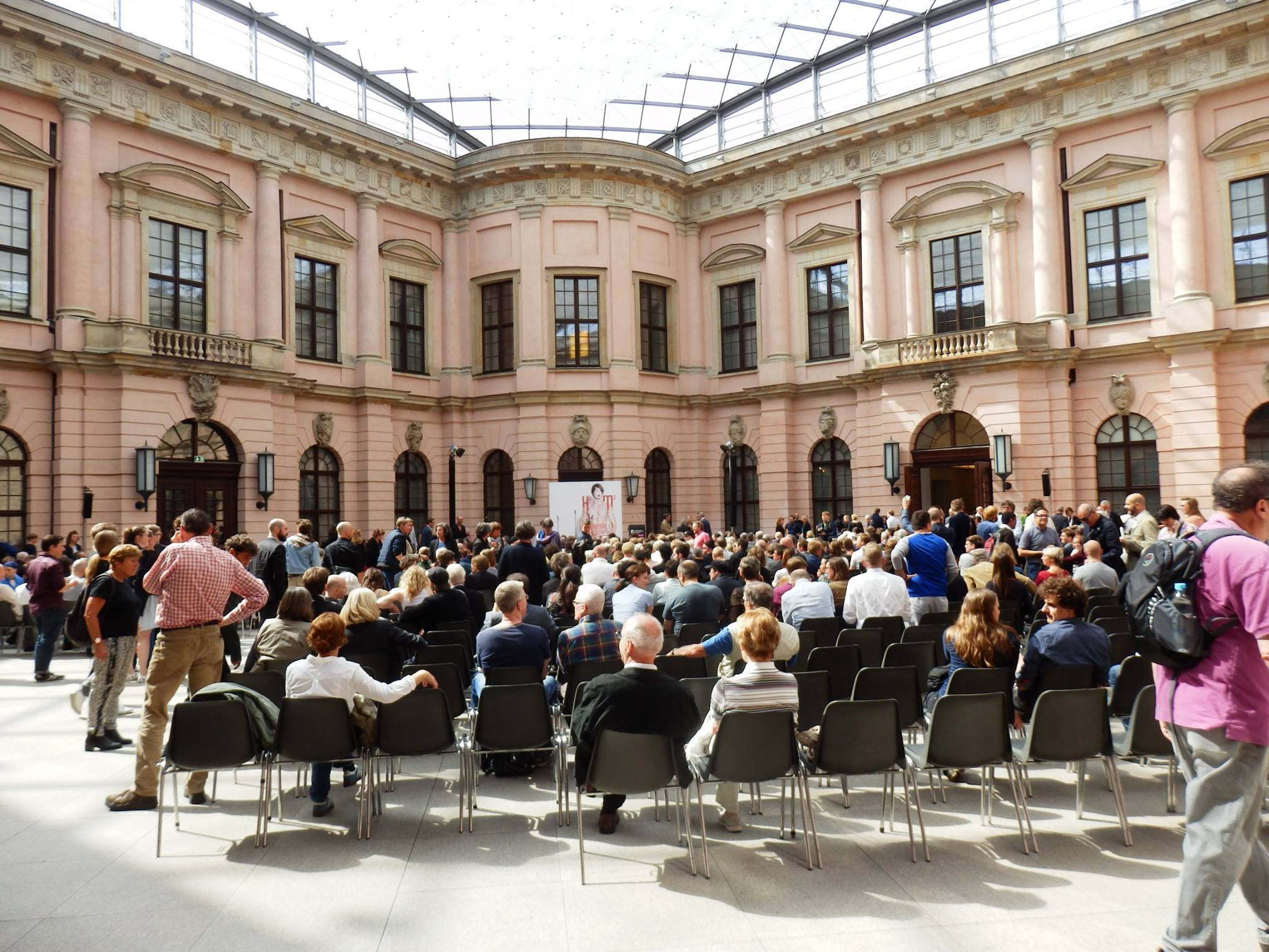"The opening ceremony of ""Homosexualität_en"" at the Deutsche Historische Museum. (Photo: Schwules Museum*)"