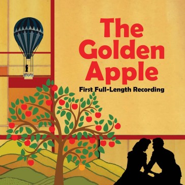 "Cover of the new cast album of ""The Golden Apple."""