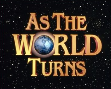"Logo for the TV show ""As The World Turns."""