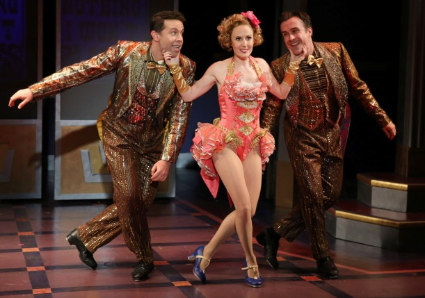 "Jeremy Benton, Ellen Zolezzi and Josh Walden in ""Cagney."" (Photo: Carol Rosegg)"