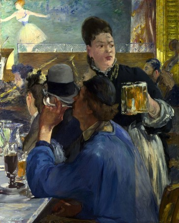 "Edouard Manet's ""Corner of a Café-Concert"", 1878/80. (Photo: Wikipedia)"