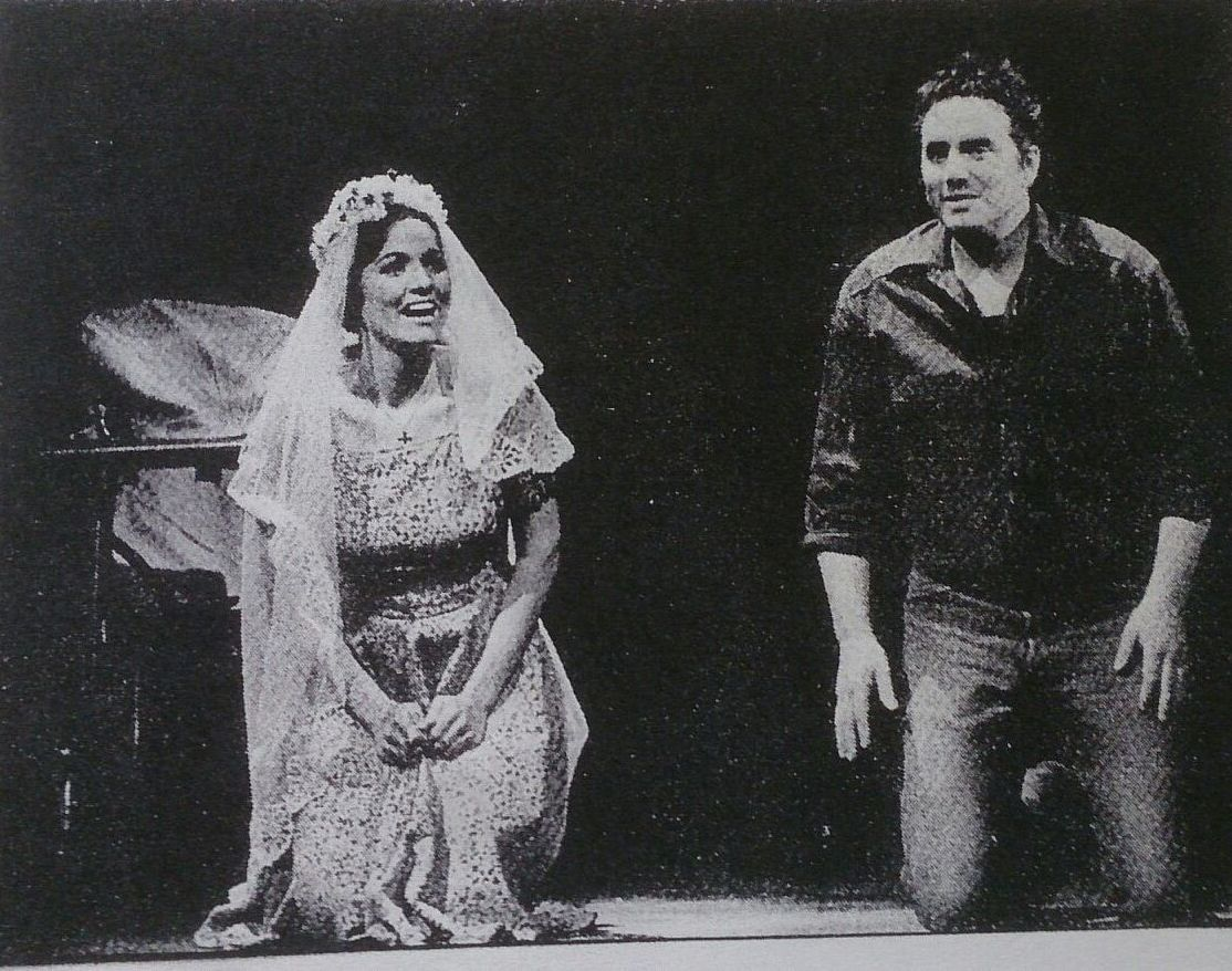 "The famous DDR production of ""West Side Story"" with Dagmar Schellenberger as Maria and Stephan Spiewok as Tony. (Photo: Dagmar Schellenberger)"
