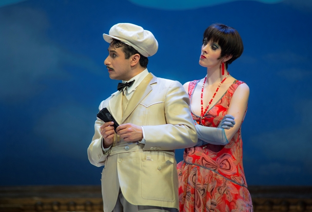 "Scene from ""La Rondine"" at the Deutsche Oper Berlin. (Photo: Bettina Stoess)"