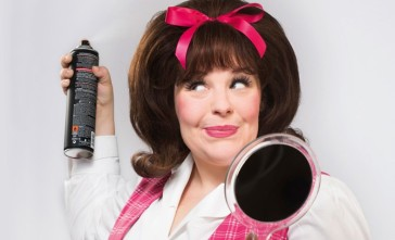 "Poster for ""Hairspray"" at the Stadttheater Baden 2015. (Photo: Bühne Baden)"