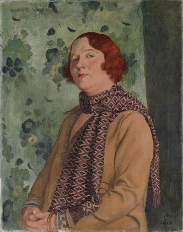 "Portrait of Claire Waldoff (1930) by Emil Orlik. © Deutsches Historisches Museum, Berlin. Waldoff is part of the exhibition ""Homosexualität_en"" and will get a solo-show next year at the Schwules Museum*."