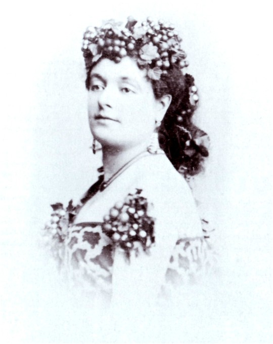 Lise Tautin in 1858.