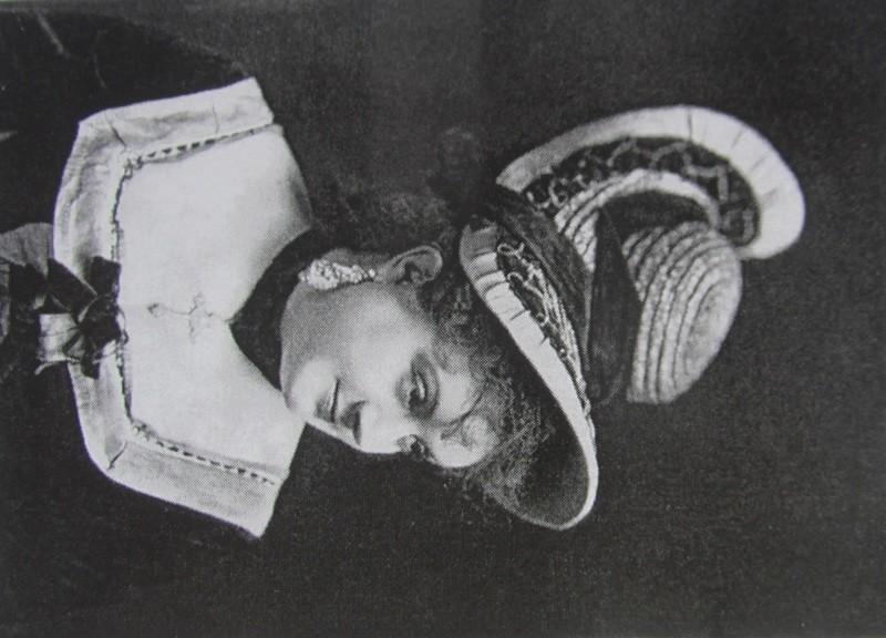 The French actress Marie Desclauzas. (Photo: Kurt Gänzl Archive)