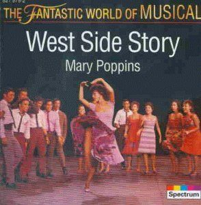 "CD cover for the Ingeborg Hallstein recording of ""West Side Story"" and ""Mary Poppins."""