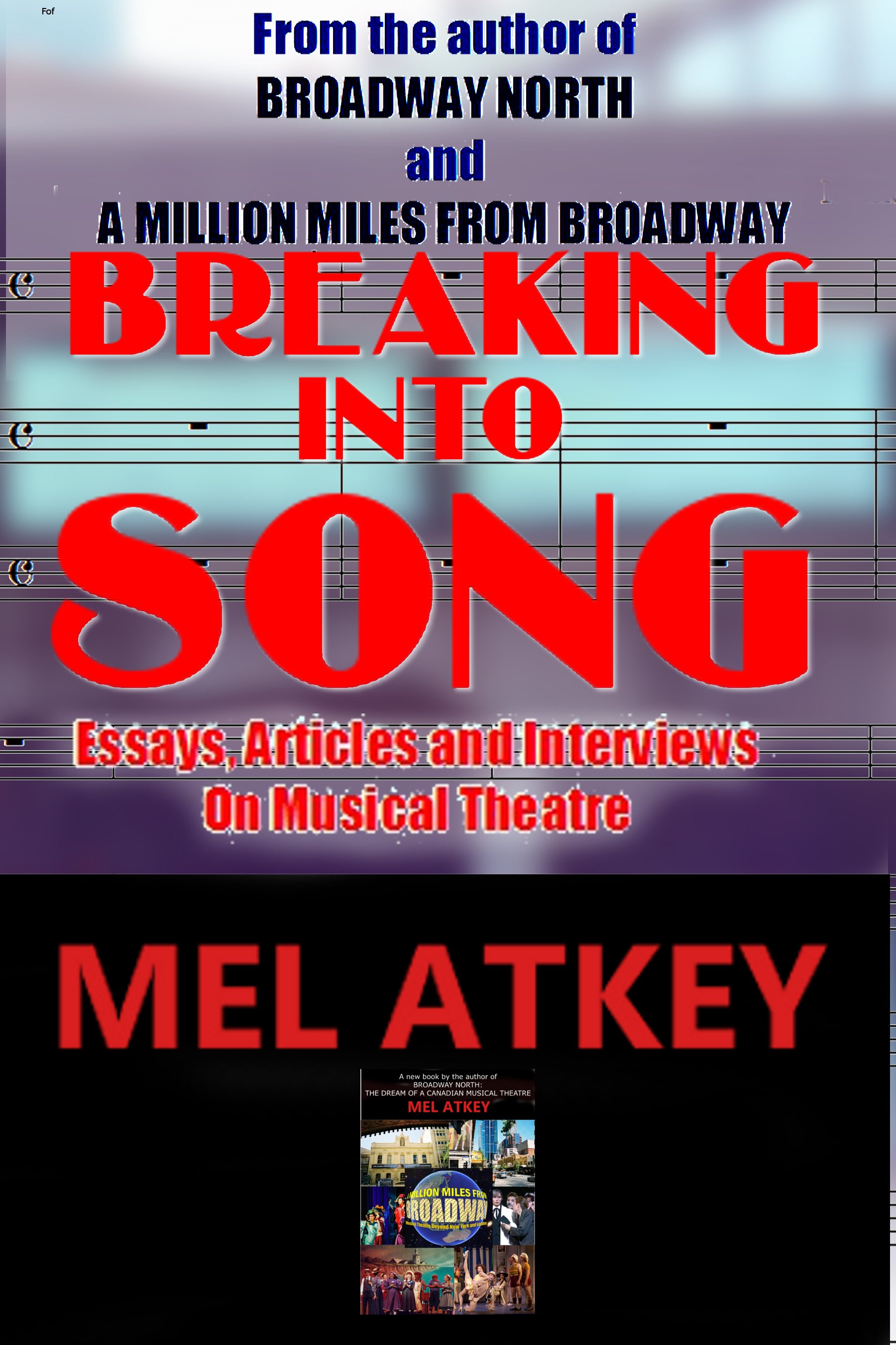 "The cover for ""Breaking Into Song."""