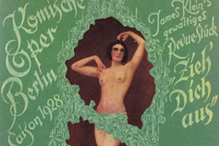 Demonstration der Homosexuellen: Skandalscenen in der Komischen Oper!