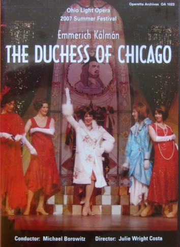 "The DVD cover of ""The Duchess of Chicago,"" from Ohio Light Opera."