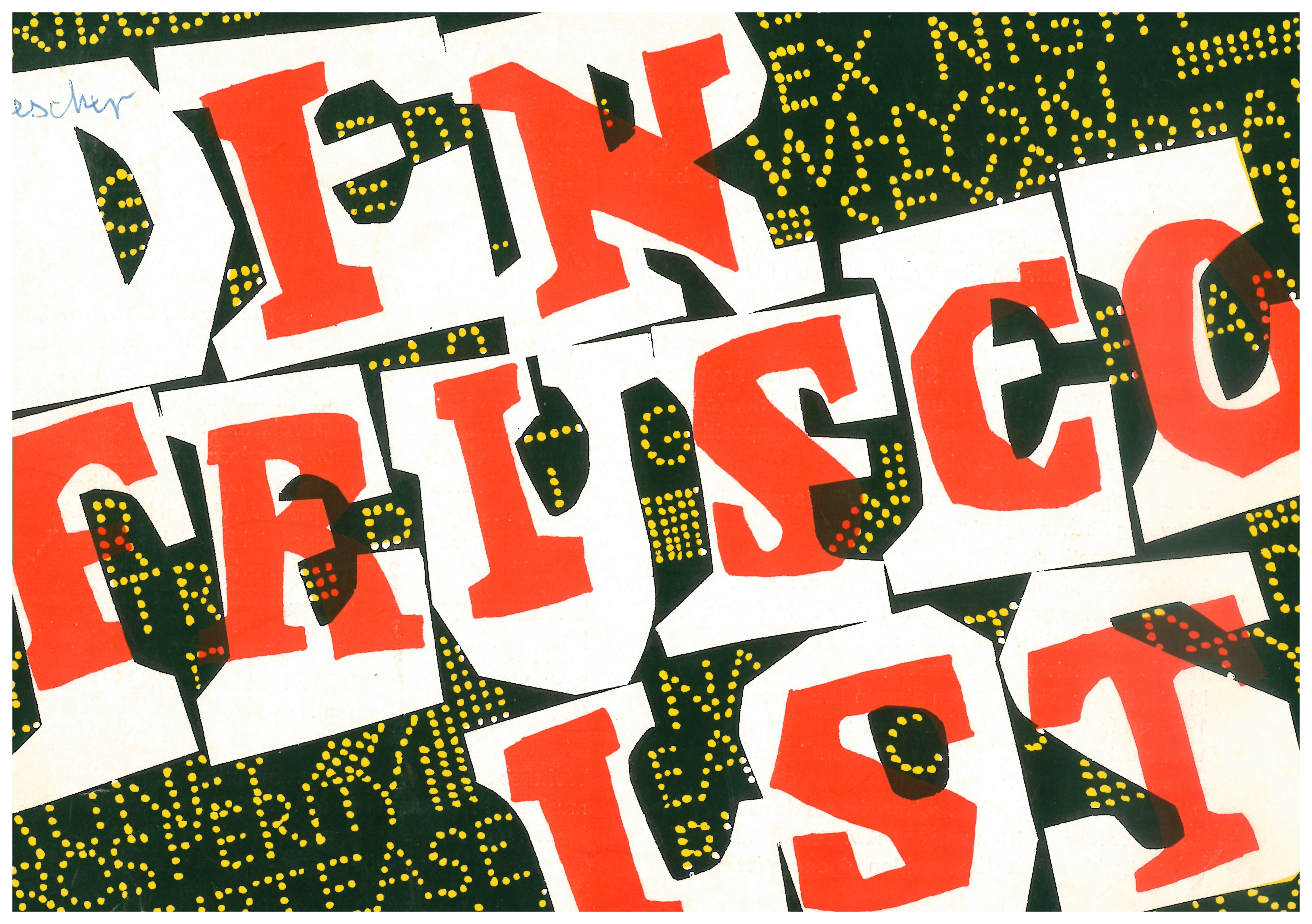 """Program for the 1965 production of """"In Frisco ist der Teufel los"""" at the Musikalische Komödie Leipzig. (Photo: Oper Leipzig)"""