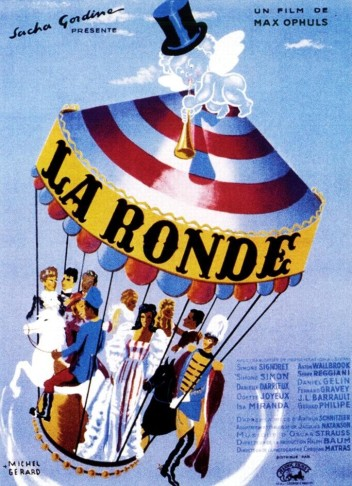 Poster for Max Ophüls' film from 1950.