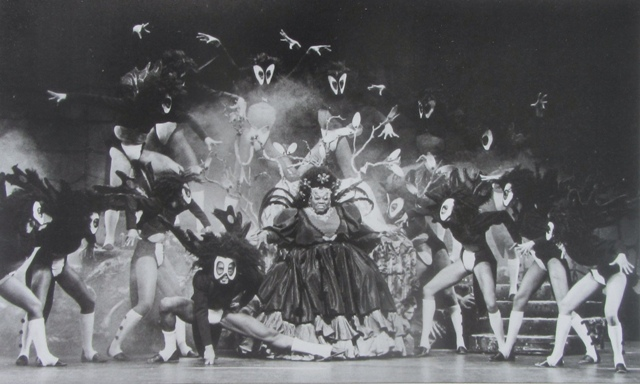 """The Wiz"" was transformed into a hit via the support of the black community. (Photo: Stewart F Lane's ""Black Broadway."")"