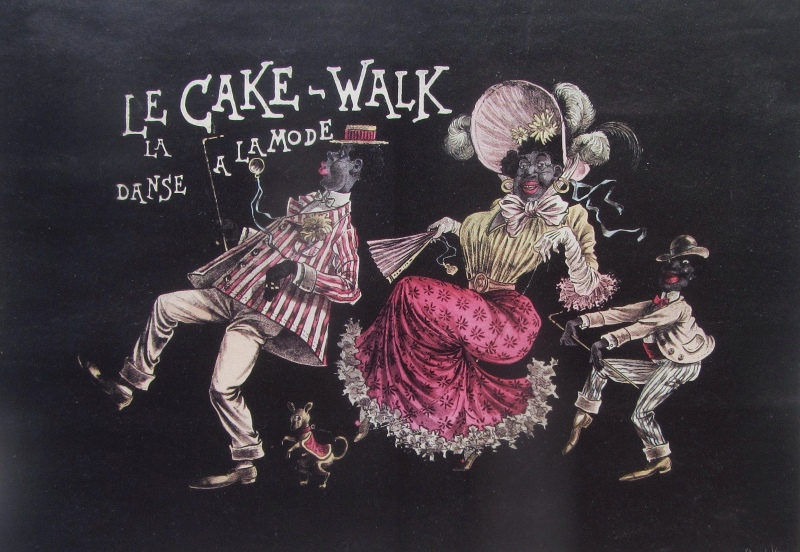 "In the late 19th century the cakewalk became a craze. (Photo: Stewart F. Lane's ""Black Broadway."")"