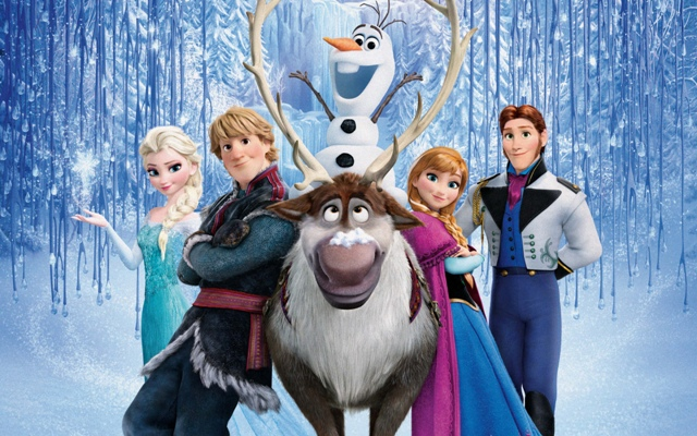 "The main characters from ""Frozen."" (Photo: Disney Studios/Promo)"