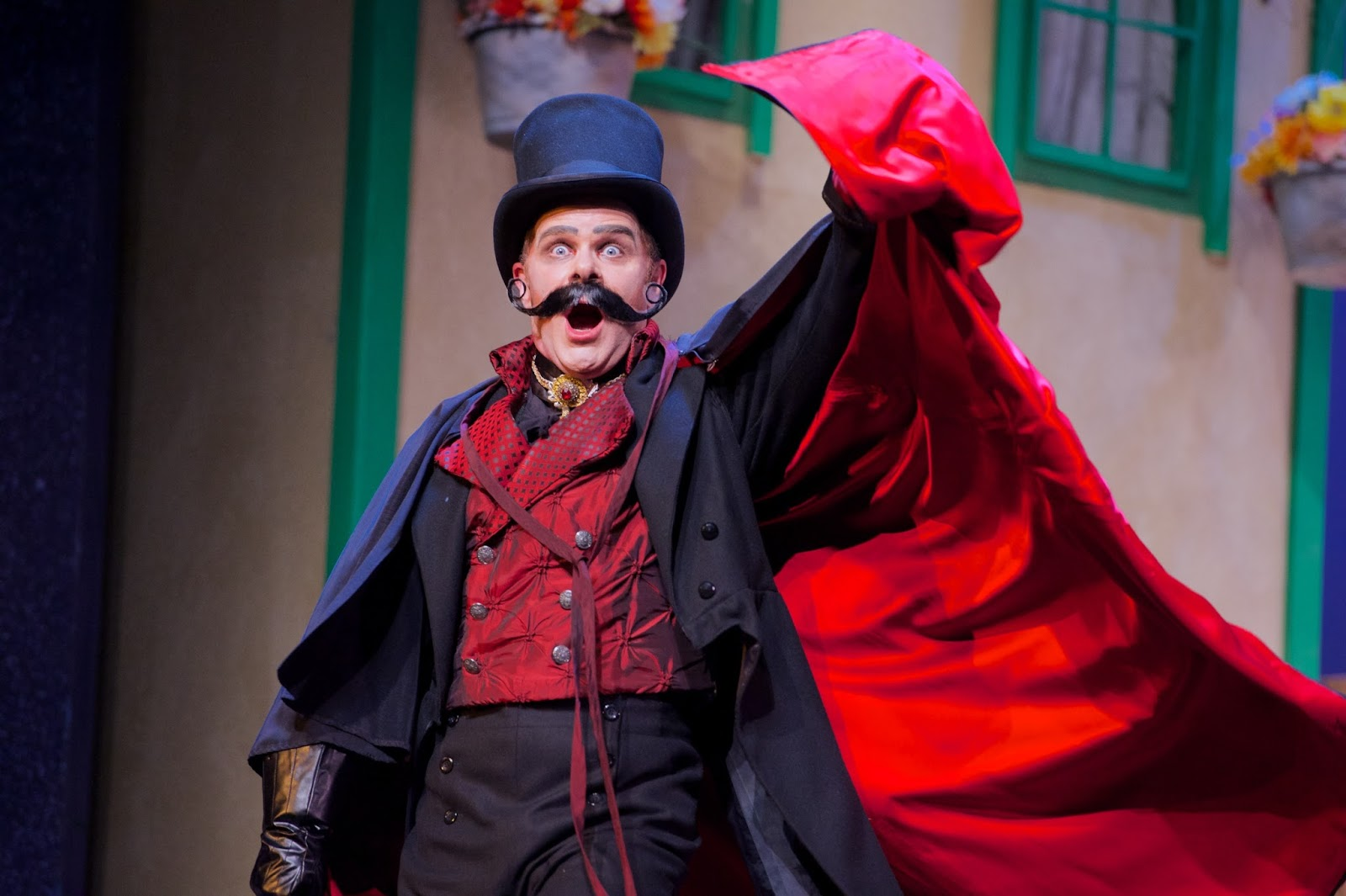 "Ted Christopher in ""Ruddigore."" (Photo: Matt Dilyard)"