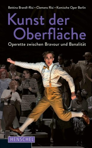 "The cover for ""Kunst der Oberfläche."" (Photo: Henschel Verlag)"