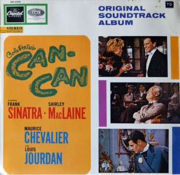 "Cover for the original film soundtrack of ""Can-Can"". (Photo: Archive Richard C. Norton)"