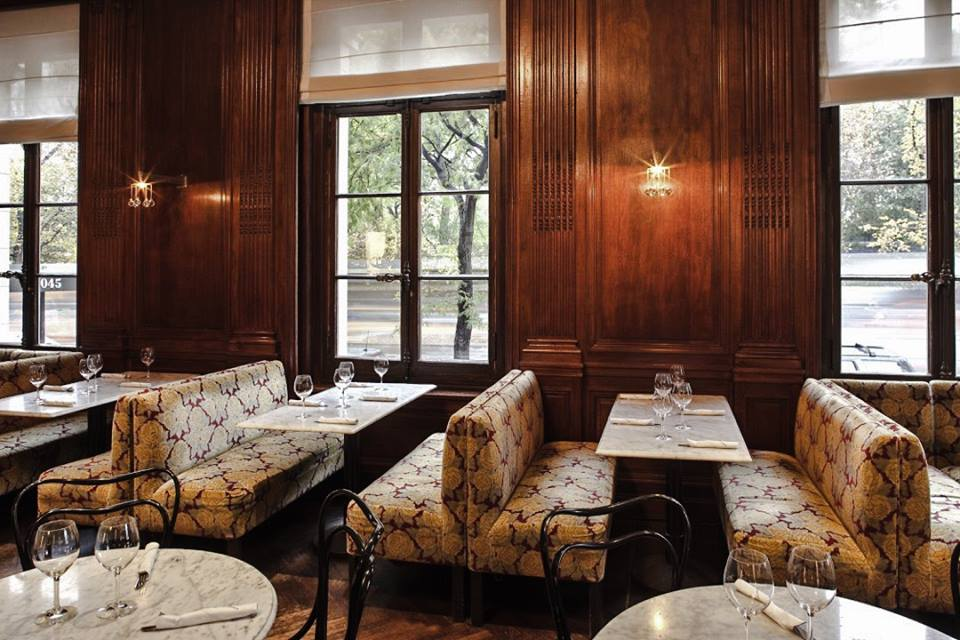 The Café Sabarsky at New York's Neue Galerie. (Foto: Café Sabarsky/Facebook)