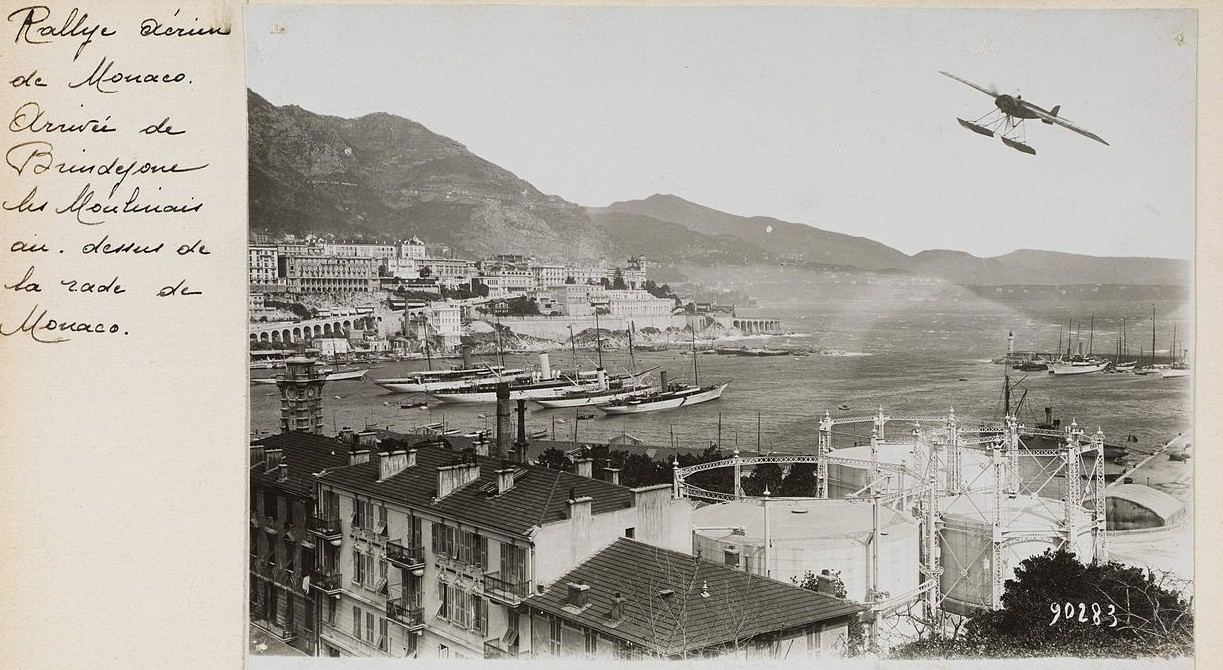 A view of Monte Carlo in 1914. (Photo: Wikipedia)