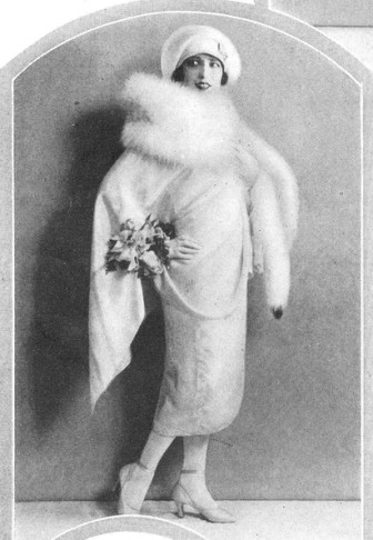 Yvonne D'Arle in 1926, when she appeared in a Ziegfeld production.