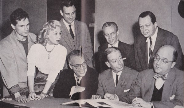 Cole Porter and the creative team. (Photo: Archive Richard C. Norton)