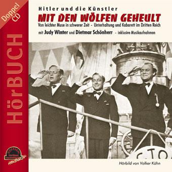 """Volker Kühn's audi book """"Mit den Wölfen geheult."""" (Duophon Records)"""