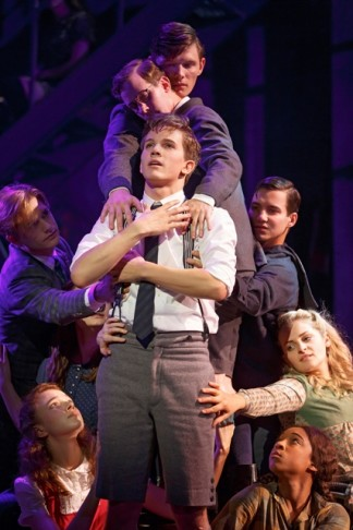 "Austin P. McKenzie in ""Spring Awakening"" 2015. (Photo: Joan Marcus)"