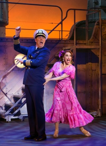 "John Bolton and Lesli Margherita in the 2015 ""Dames At Sea"". (Photo: Jeremy Daniel)"