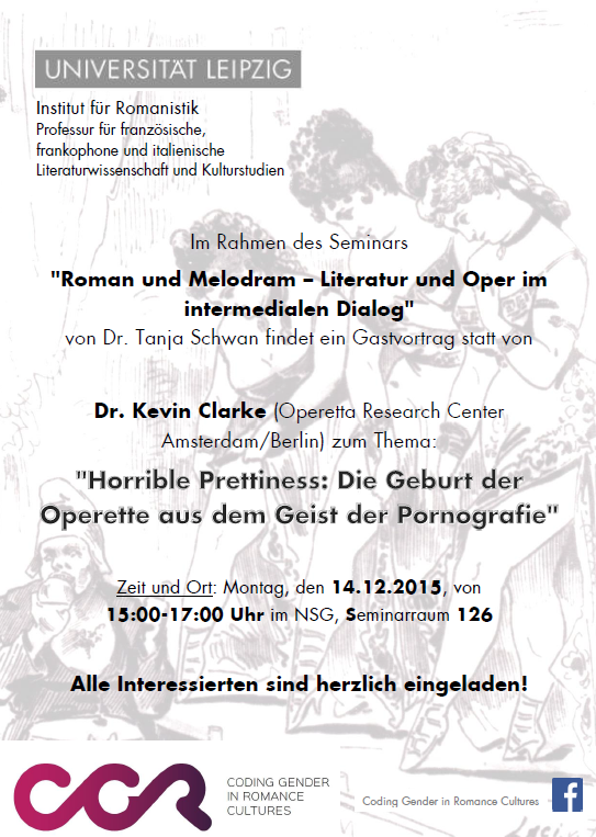 Announcement for the gender discussion in Leipzig, December 14, 2015.