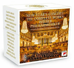 The collected New Year's concerts from Vienna, in a Sony box.