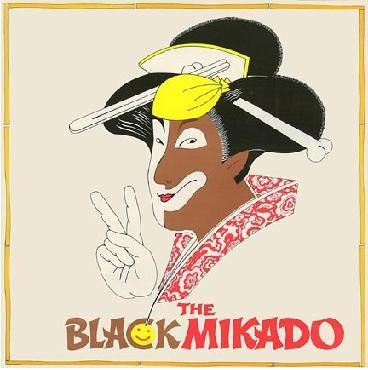 "LP cover of the 1975 ""Hot Mikado"" from London."