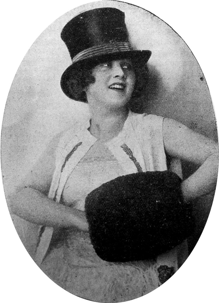 "Soubrette Elsie Altman played Mabel in the 1926 production of ""Zirkusprinzessin,"" a cheeky pseudo-English artist with a dog act."