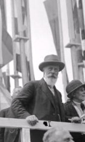 Austrian President Michael Hainisch, 1928.