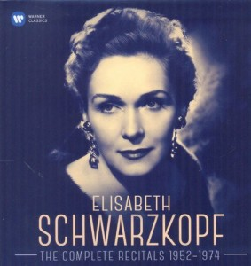 The Complete Recitals by Schwarzkopf, on Warner Classics.