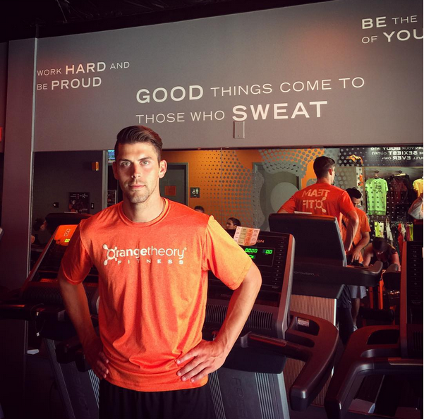Justin Tucker working out for the game. (Photo: Instagram/@jtuck9)
